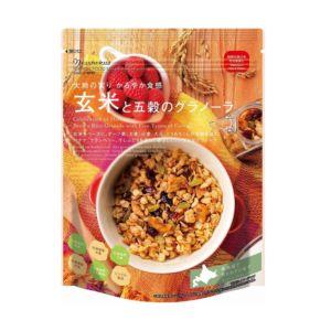[日本 Nisshoku] 北海道玄米五穀早餐燕麥片 (200g/包) {效期: 2019-04-17}