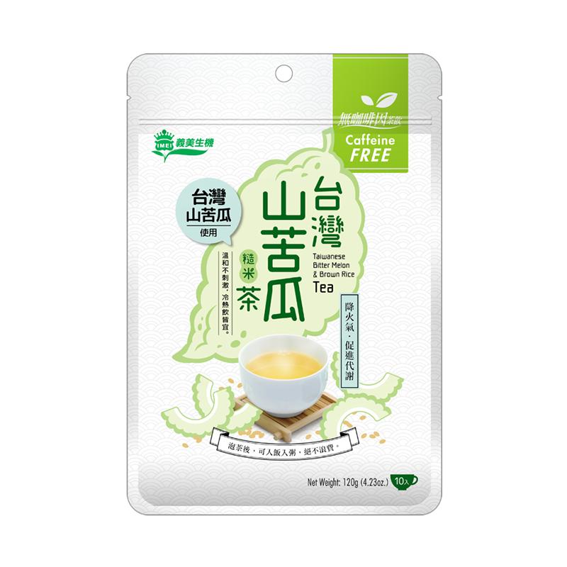 [義美生機] 台灣山苦瓜糙米茶 (120g/包) (全素)