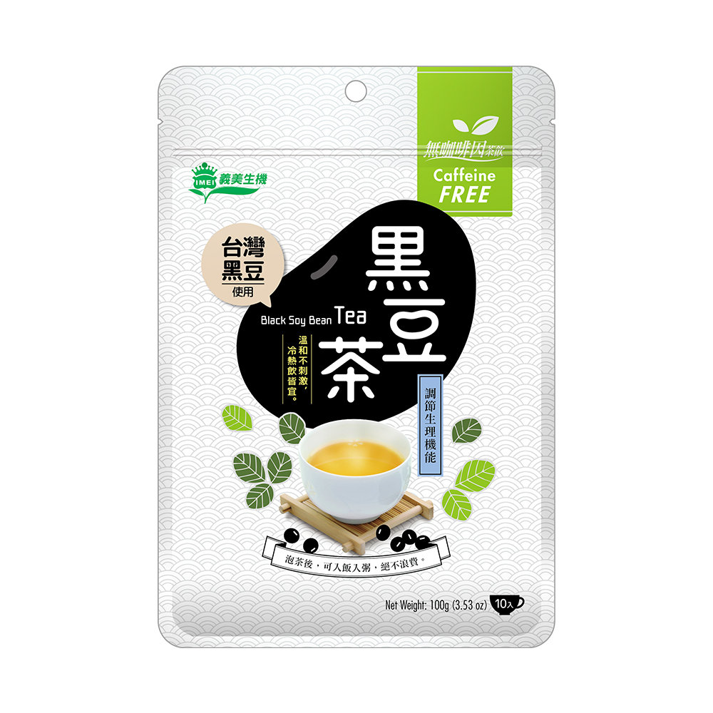 [義美生機] 台灣黑豆茶 (100g/包) (全素)