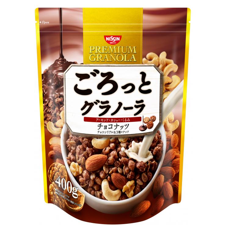 [即期品] [日清 Nissin] 巧克力堅果麥片 (400g/包) {效期: 2021-07-09}
