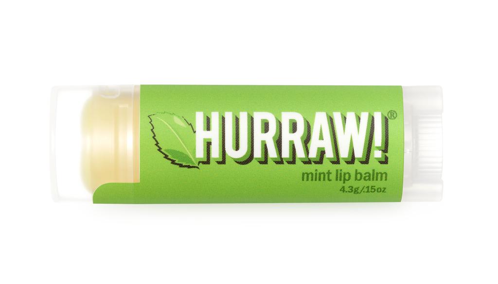 美國Hurraw護唇膏 薄荷