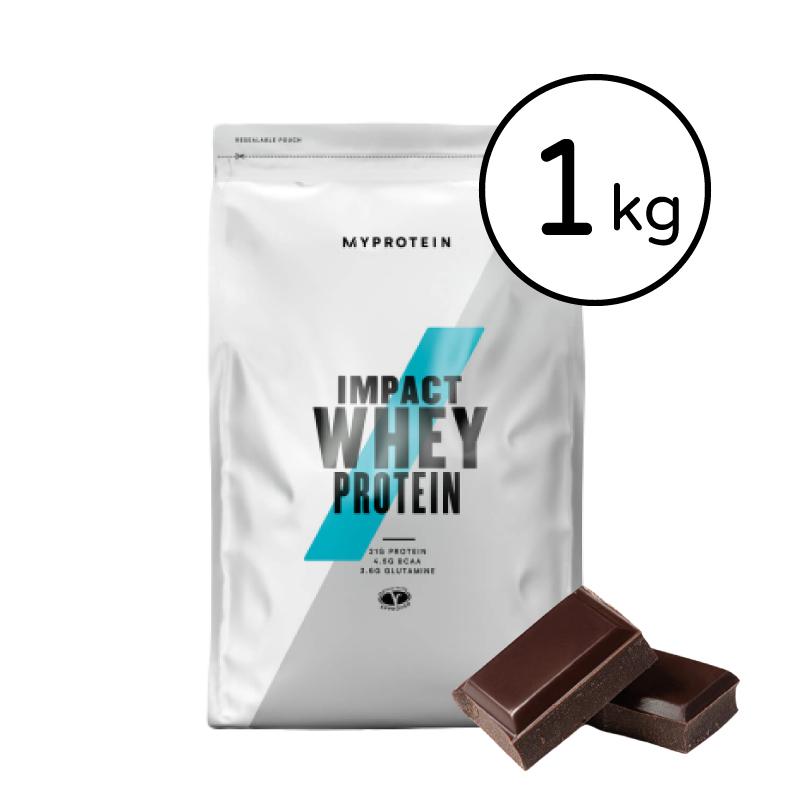 [英國 Myprotein] 濃縮乳清蛋白(1kg/包) 黑巧克力