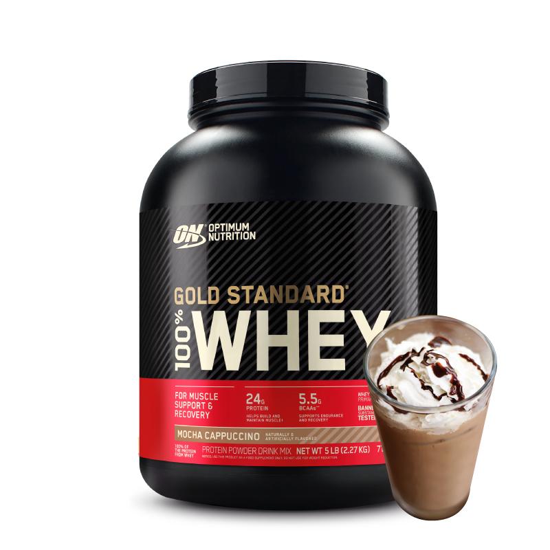 [美國 ON] 金牌乳清蛋白 (5磅/罐) 摩卡