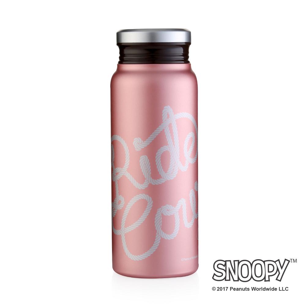 [Snoopy 史努比] 酷仔輕量不鏽鋼保溫杯