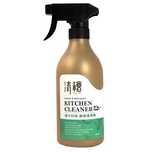 [清檜] 檜木柑橘廚房清潔劑 (500ml/瓶)