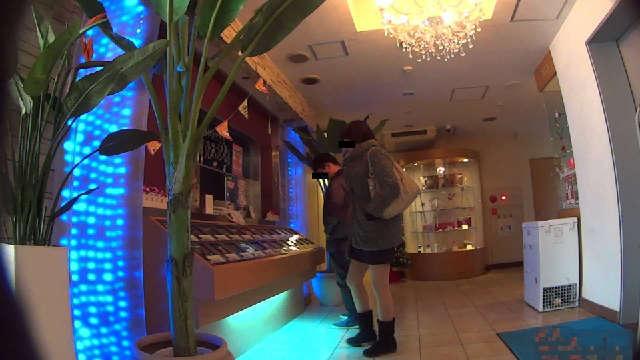 ラブホテルに入店中の写真1