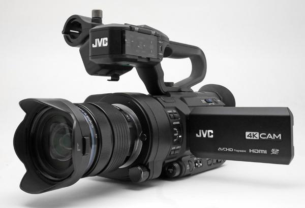 JVC レンズ交換型4KカメラGY-LS300ファーストインプレッション