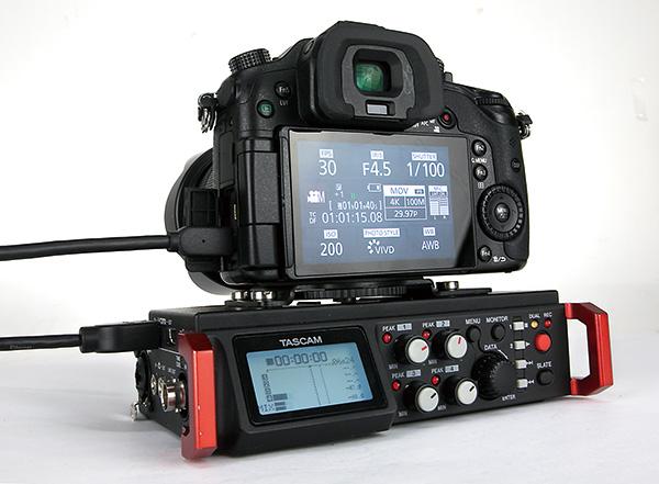TASCAM DR-701Dレポート❶〜HDMI接続でカメラと同期する映像制作のためのPCM音声レコーダー