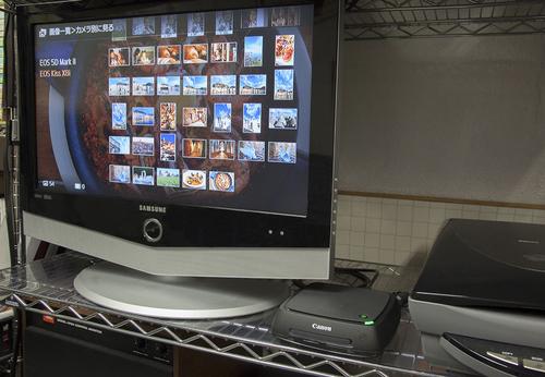 キヤノン<ConnectStation CS100>がファームアップで大きく進化