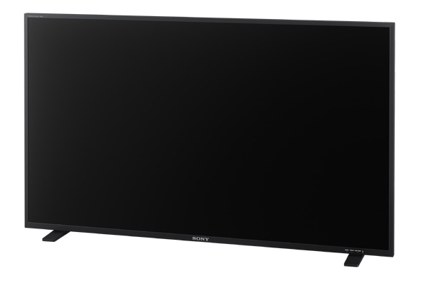 ソニー、業務用4K有機ELモニターPVM-X550
