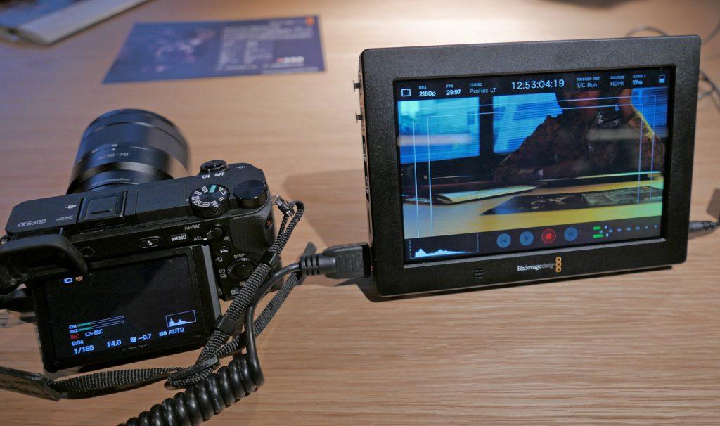 Blackmagic Video Assist 4Kはソニーαと連動するか? やってみた