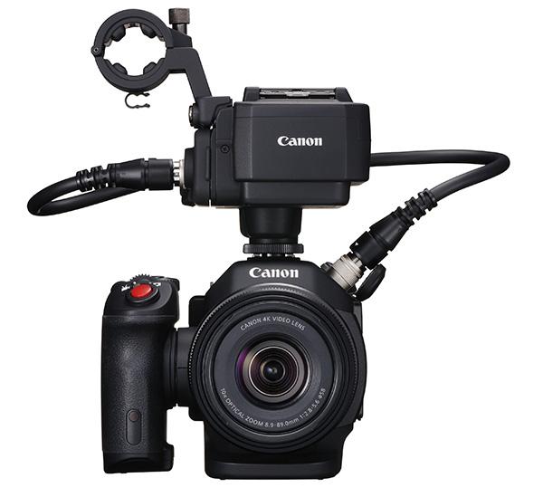キヤノン、XLR入力が可能になった4Kカメラ</BR>XC15を発表