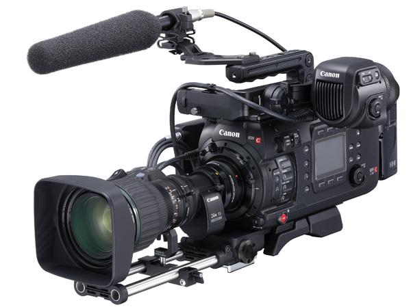 キヤノン、CINEMA EOS最上位モデルEOS C700発表、</BR>テレビ番組制作用の4Kカメラとしても