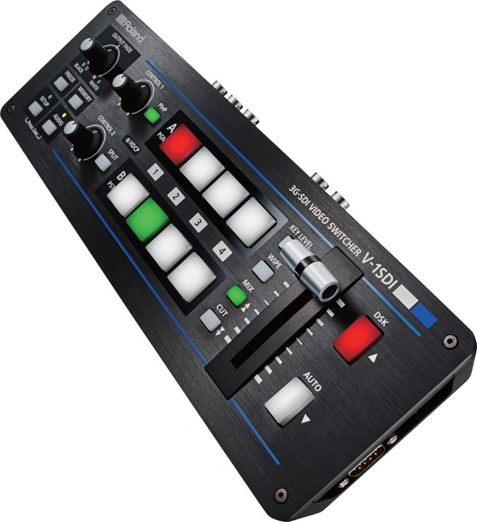 ローランドから3D-SDI/HDMI対応の4chHDビデオスイッチャー、V-1SDI