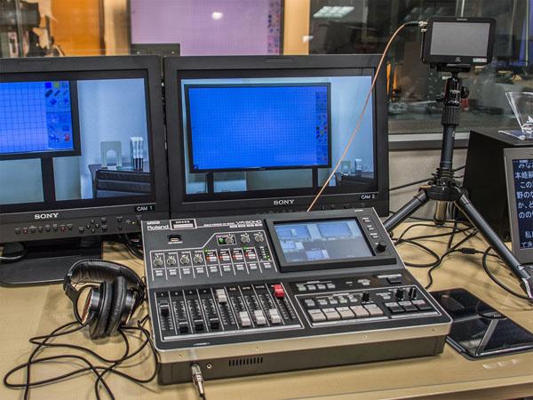 【ローランドAVミキサーの現場】ネット時代の動画活用講座~大手前大学eラーニングでの活用