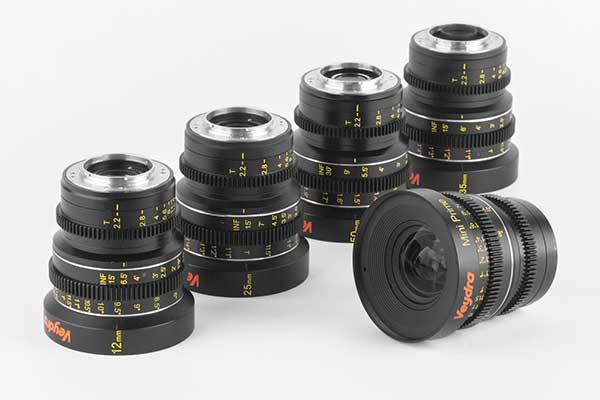 ケンコープロフェショナルイメージング、Veydraのミラーレス用シネマレンズ「Mini Primeシリーズ」6本を発売