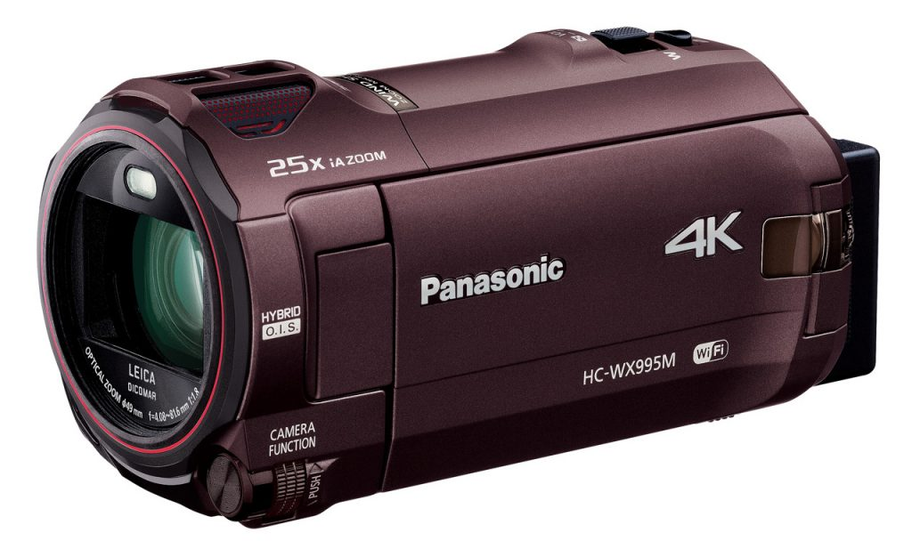 パナソニック新型ビデオカメラ HC-WX995M/VX985M