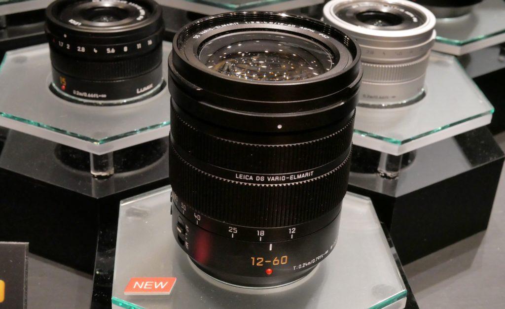 パナソニック、マイクロフォサーズレンズLEICA DG VARIO-ELMARIT 12-60mm/F2.8-4.0 ASPH./POWER O.I.S.ほか全5本を発表