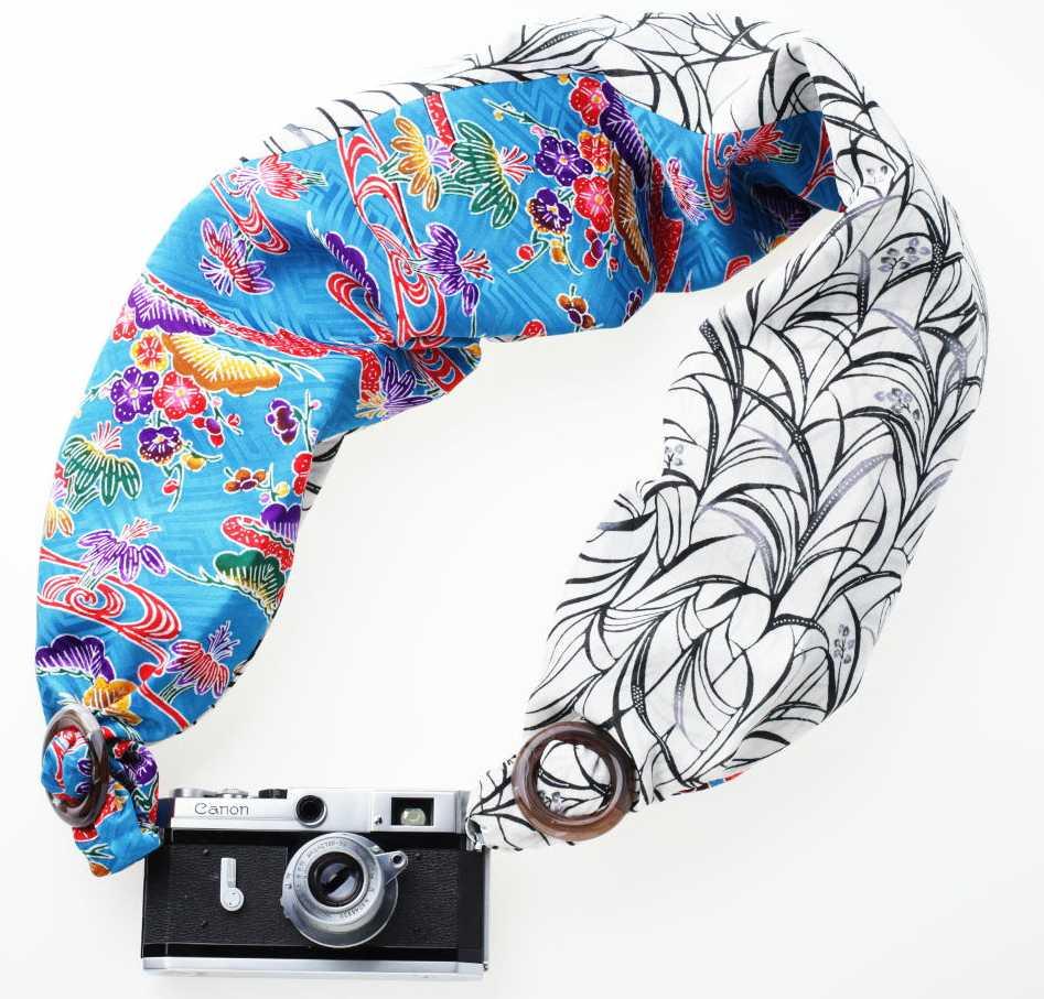 カメラの重さを感じさせない 「SAKURAカメラスリング」の沖縄バージョンが登場