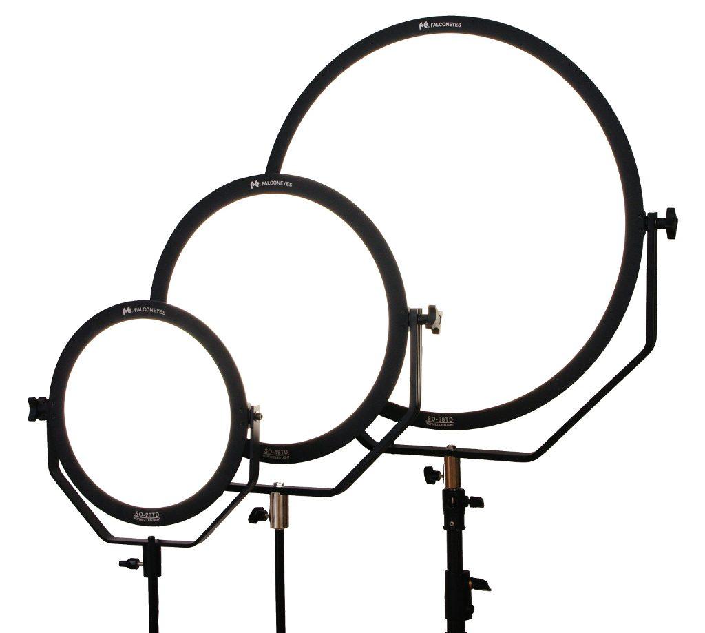 極薄&ディフューズタイプ丸型LEDライト3種登場(プロ機材ドットコム)