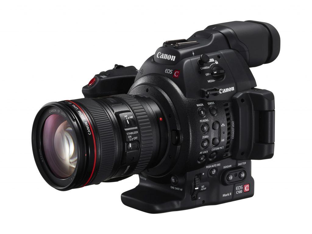 キヤノン、業務用映像機器の機能追加ファームウエアを公開