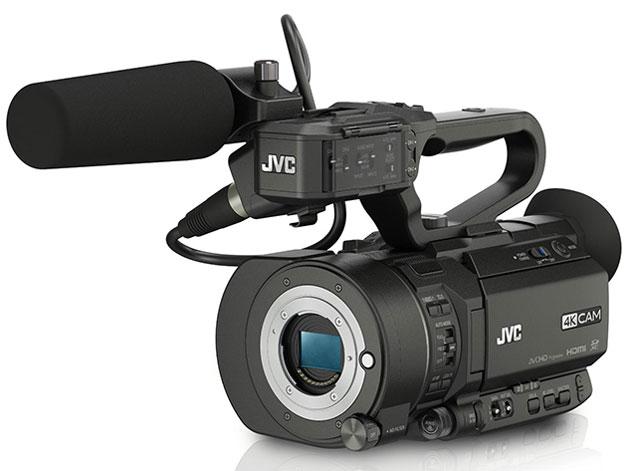 JVCのGY-LS300CH、4K/60p出力対応無償ファームアップ