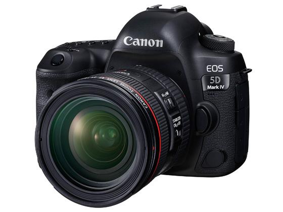 キヤノン、EOS 5D Mark IVがCanon Log対応になる有償アップグレードを6月下旬より開始