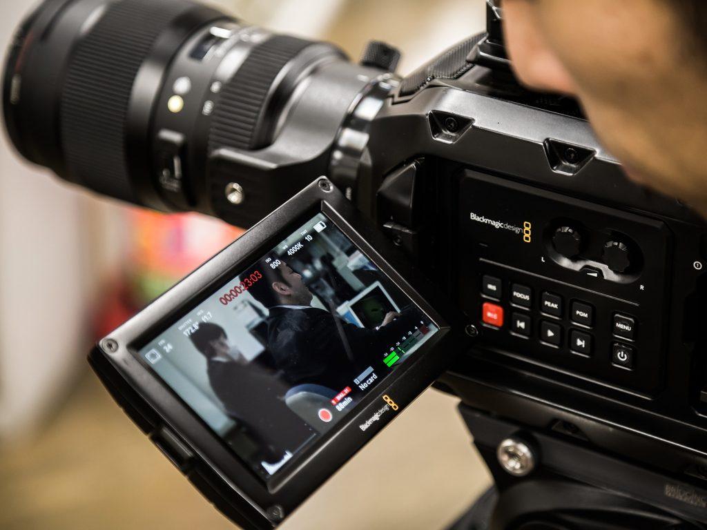 焼津市の20社の企業ビデオプロジェクトで、Blackmagic URSA Mini 4.6Kを使用