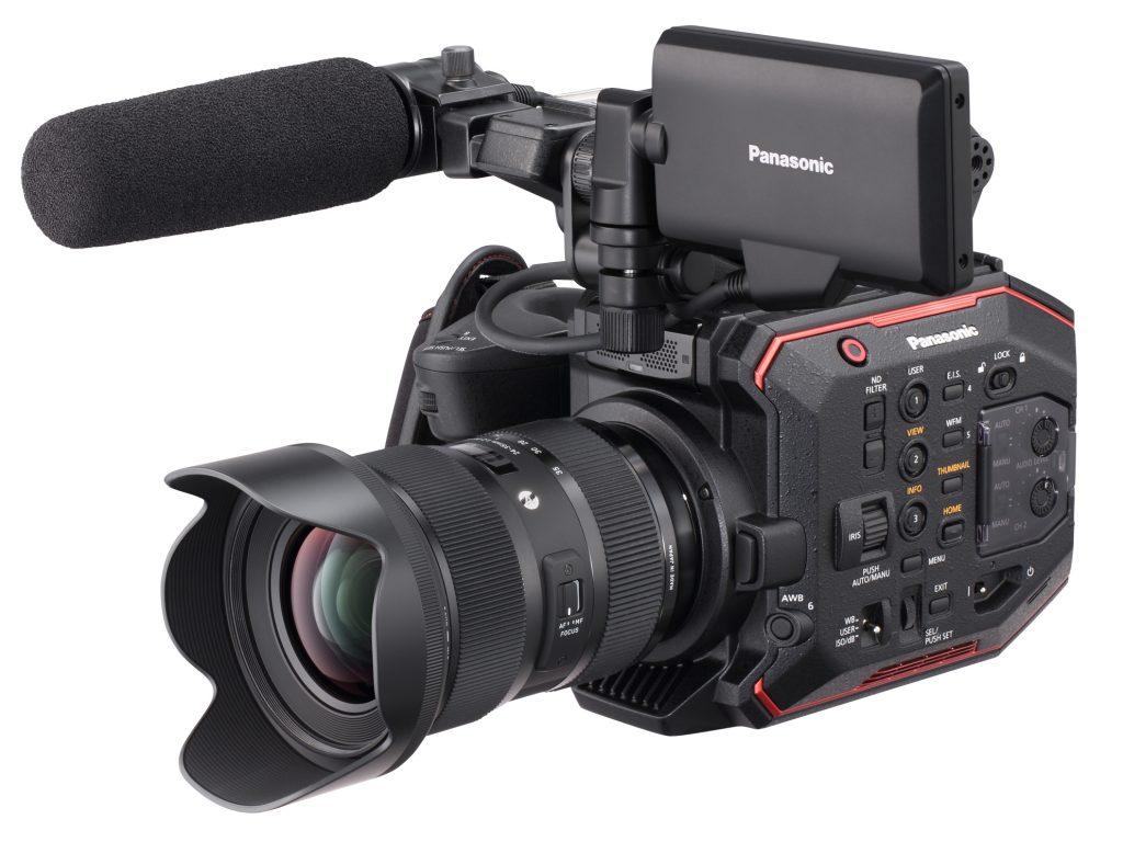 パナソニック、5.7Kスーパー35mmセンサー搭載のコンパクトシネマカメラ AU-EVA1 を開発