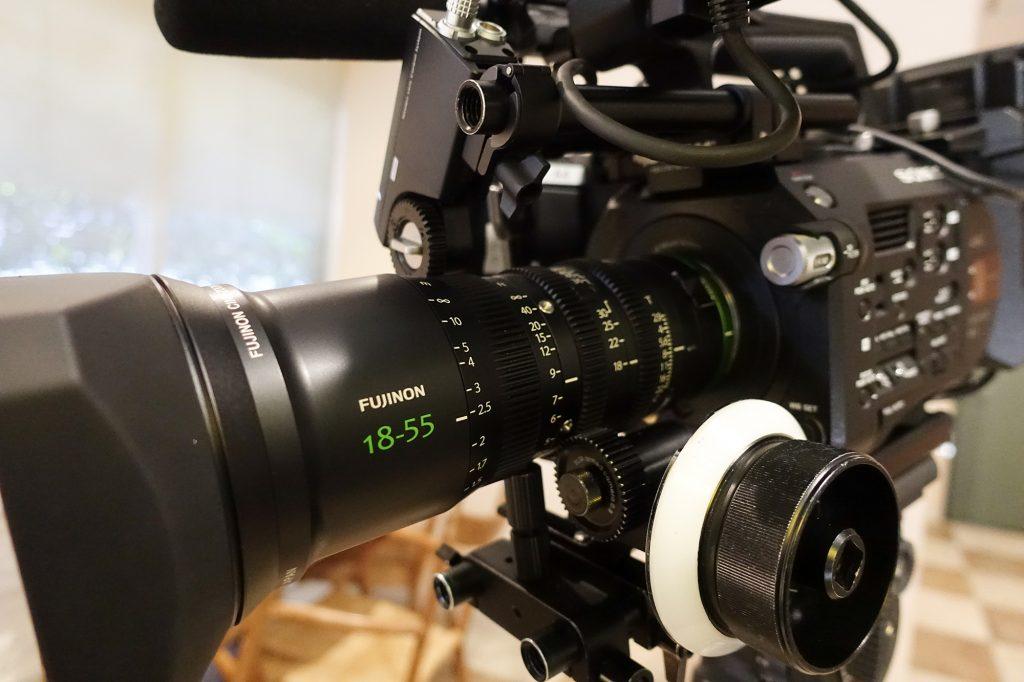 富士フイルム FUJINON MK 18-55mm T2.9をFS7と組み合わせて使ってみる①