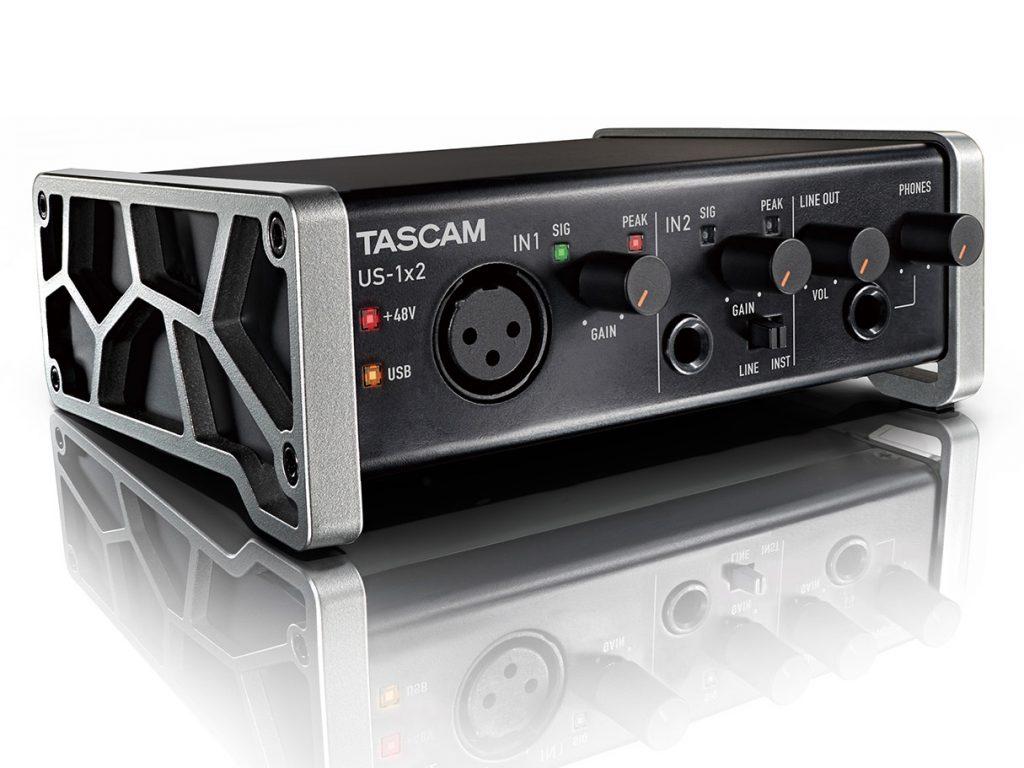 ティアック、コンパクトボディのオーディオインターフェイス US-1×2 を発売