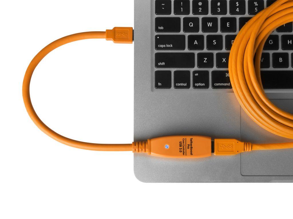銀一、TetherToolsのUSB3.0ケーブル、ブースター、アダプターなどを発売