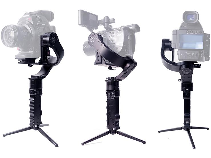 ジュエ、ソニーFS5やキヤノンC300も搭載できるデジタル3軸ジンバル「Nebula 5100 Slant」発売
