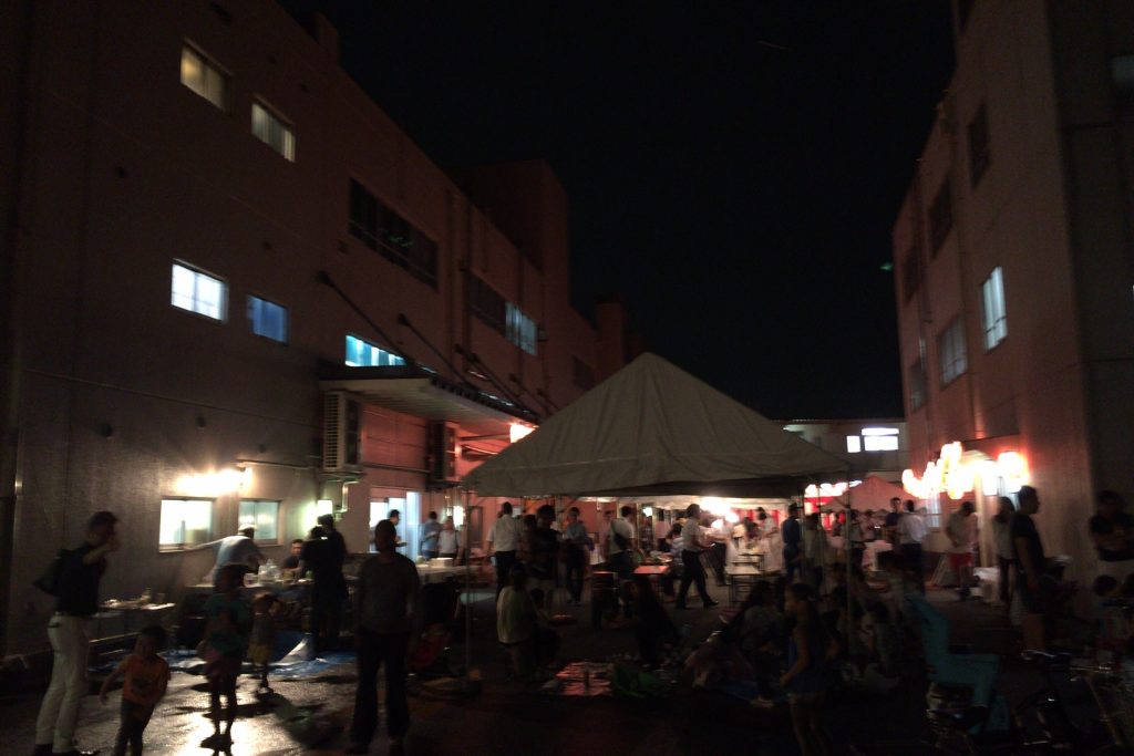 三鷹アツデンの夏祭り