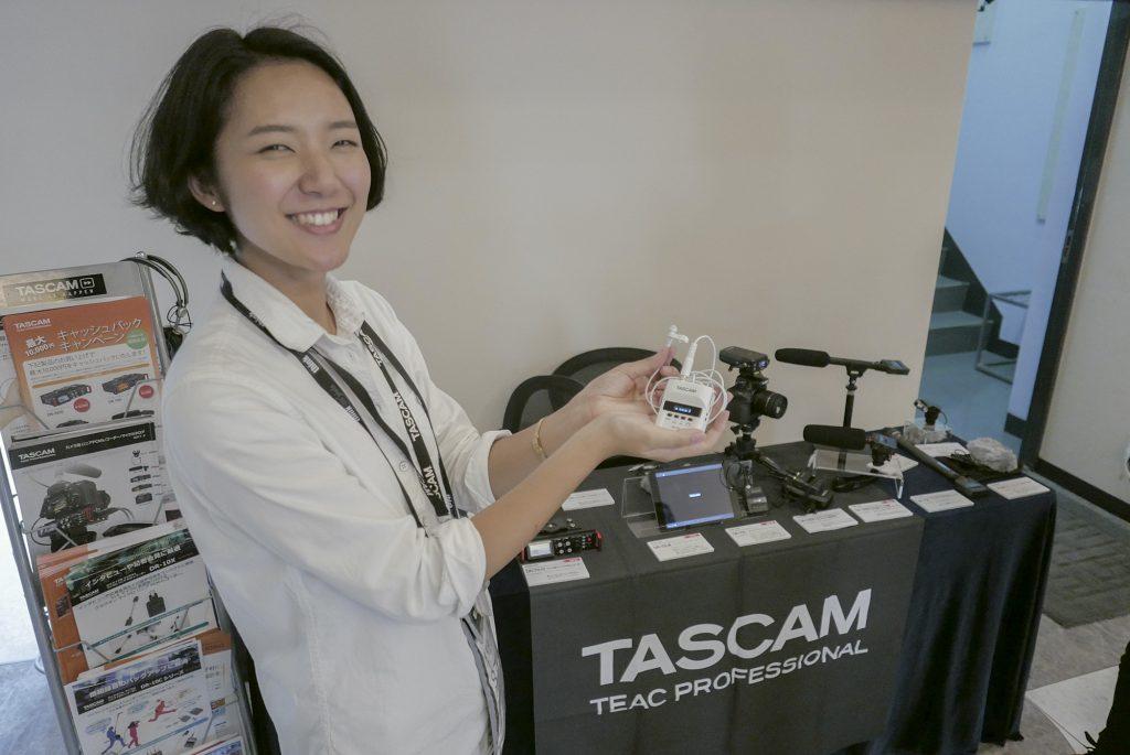 「ビデオグラファーのための映像制作機器セミナー&展示会」at銀一 【展示会編】Part 5