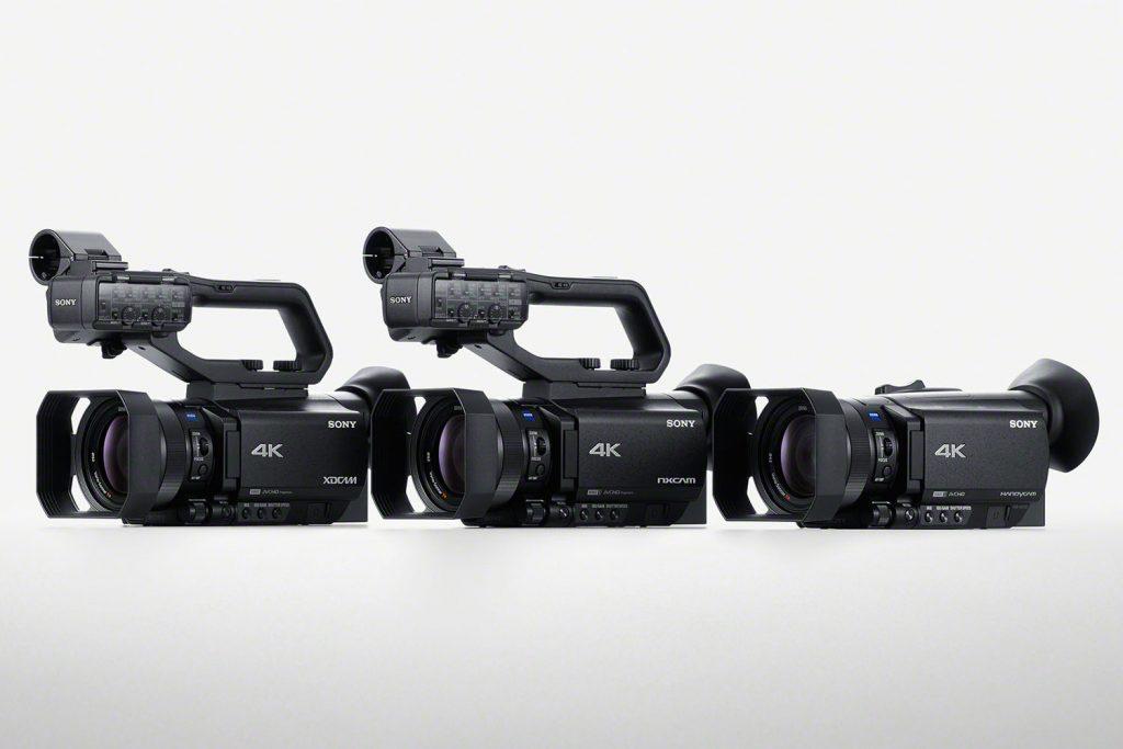 ソニー、AF機能を強化した4K/30p対応の1型センサー搭載小型ビデオカメラ、PXW-Z90/HXR-NX80/FDR-AX700の3モデルを同時発表