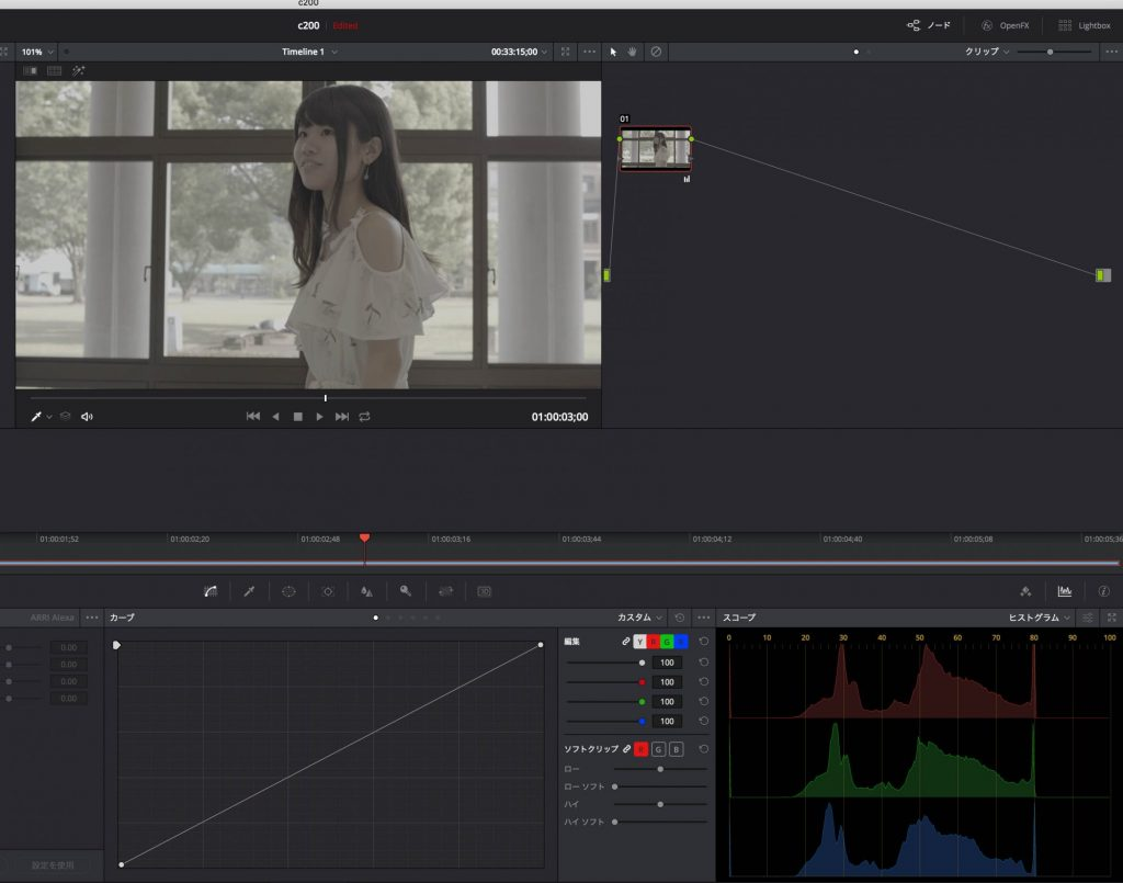 EOS C200のCinema RAW Light、現時点ではDaVinci Resolveで「RAW現像」できない?