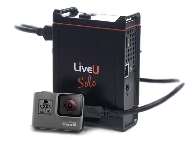 三信電気、幅広い用途に対応したモバイルライブエンコーダ LiveU Solo 発売