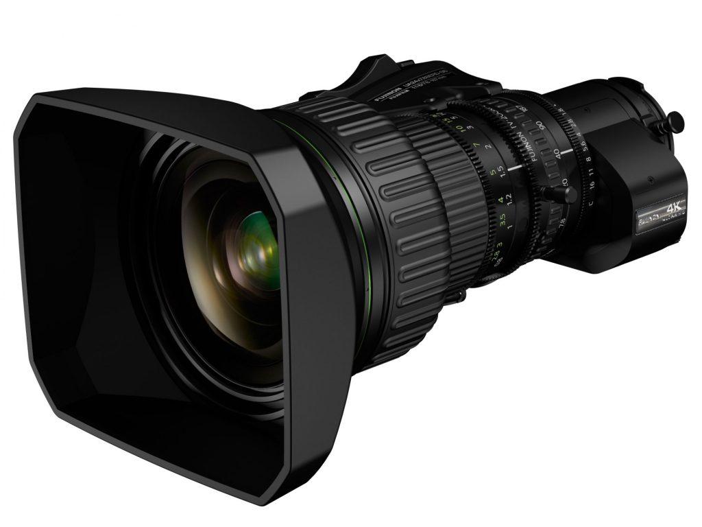 富士フイルム、世界最小・最軽量の4K対応放送用レンズ FUJINON UA24x7.8BERD を発売