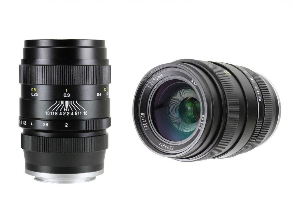 焦点工房、中一光学のソニーEマウント対応レンズ CREATOR 35mm F2/85mm F2 を販売開始