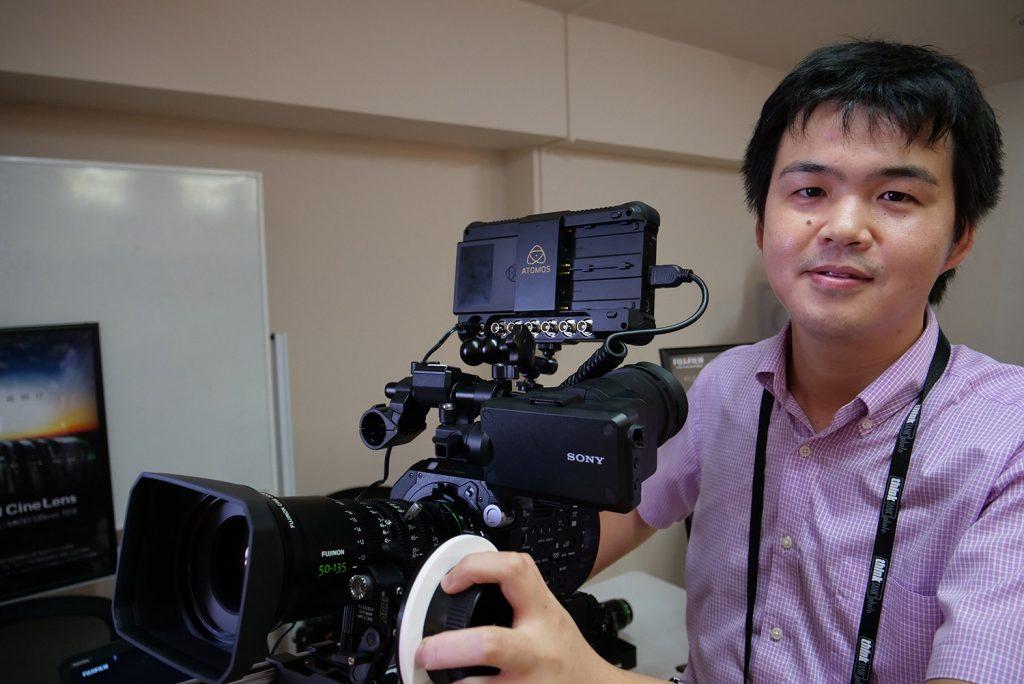 「ビデオグラファーのための映像制作機器セミナー&展示会」at銀一【展示会編】Part 4 富士フイルムとシグマ