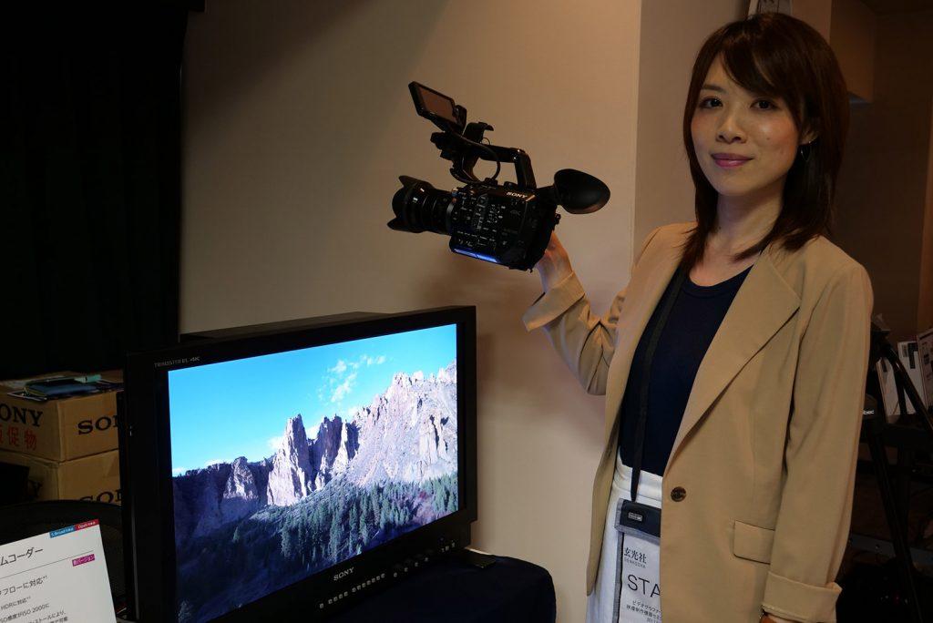 「ビデオグラファーのための映像制作機器セミナー&展示会」at銀一 【展示会編】 Part1 ソニー、キヤノン