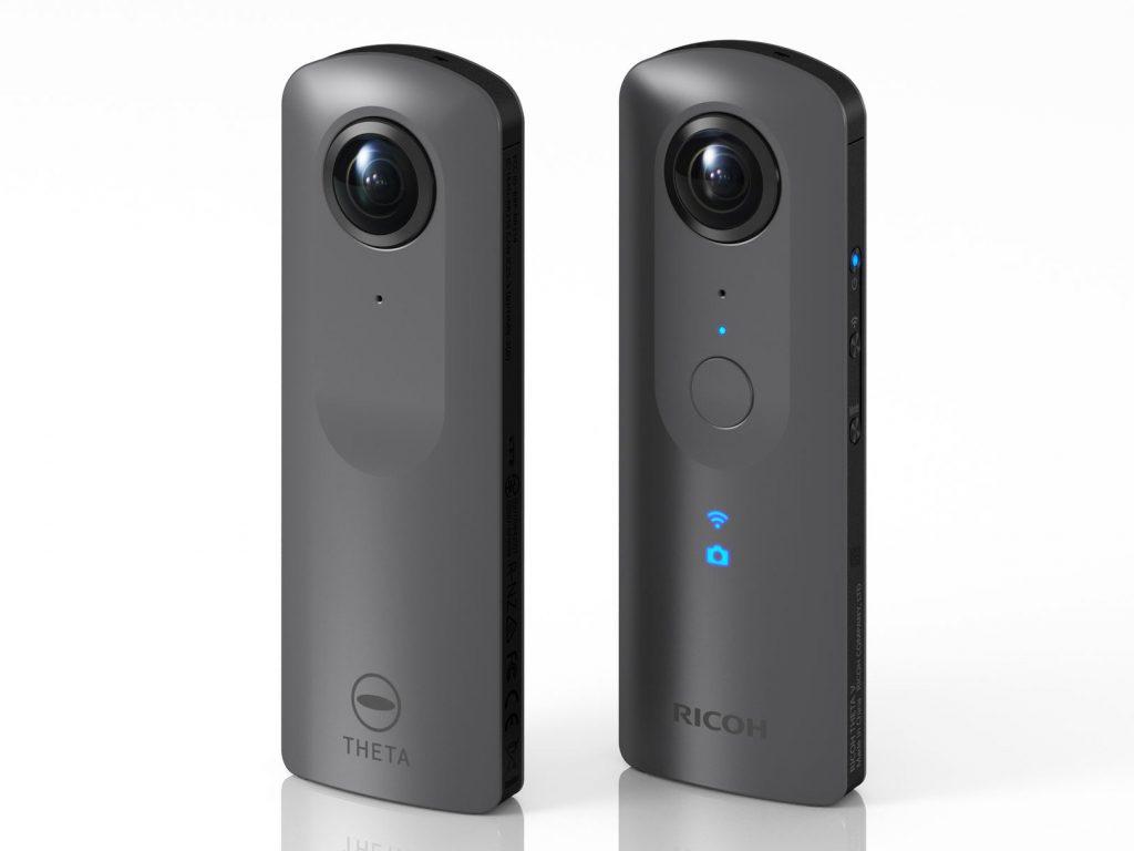リコー、4K・360度カメラ「RICOH THETA V」を発売。空間音声収録に対応する他、30mの防水ハウジングも