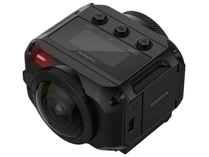 GARMIN、最大5.7K/30fps撮影対応の360°全天球カメラ「VIRB 360」を発売