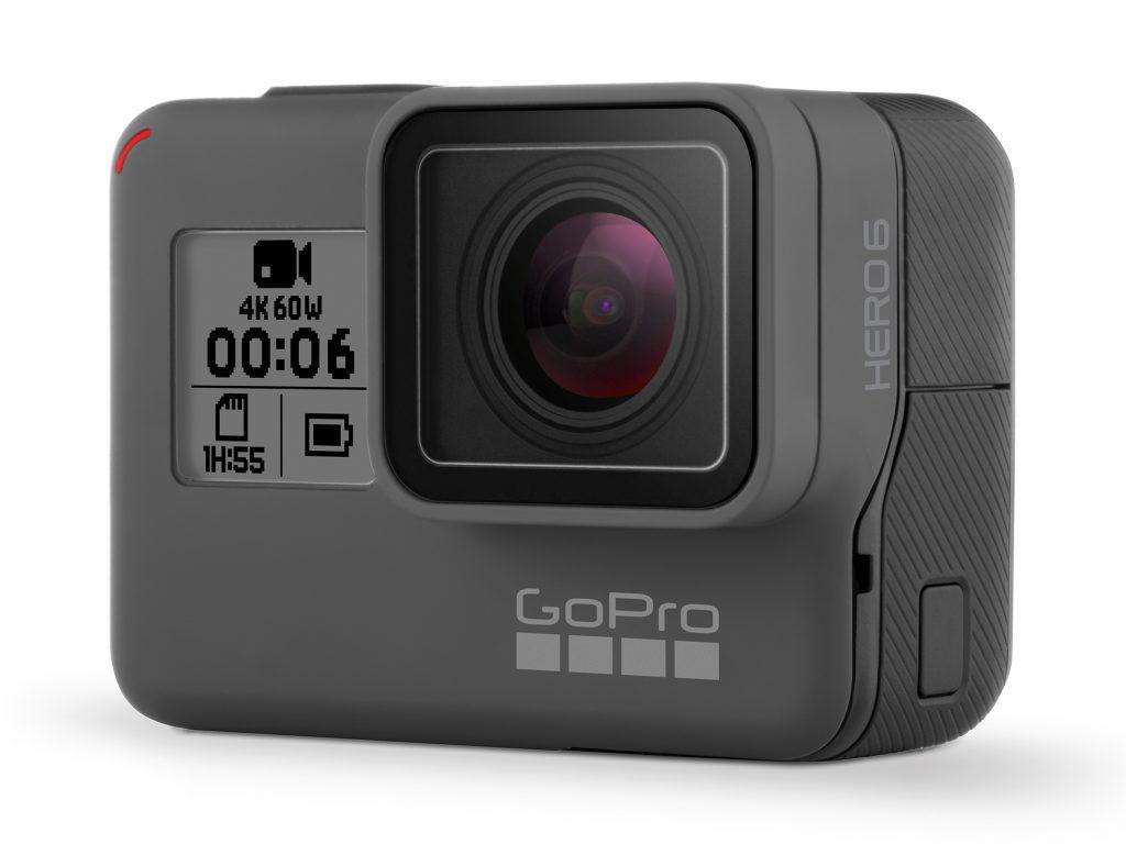 GoPro、4K/60p、1080/240p撮影に対応した最新モデル・HERO6 Black を発売