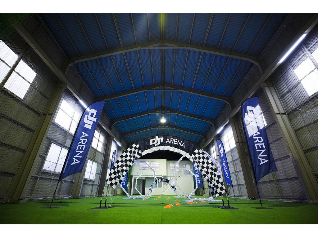 DJI、国内初の公認室内飛行施設「DJI ARENA BY JDRONE TOKYO」をオープン
