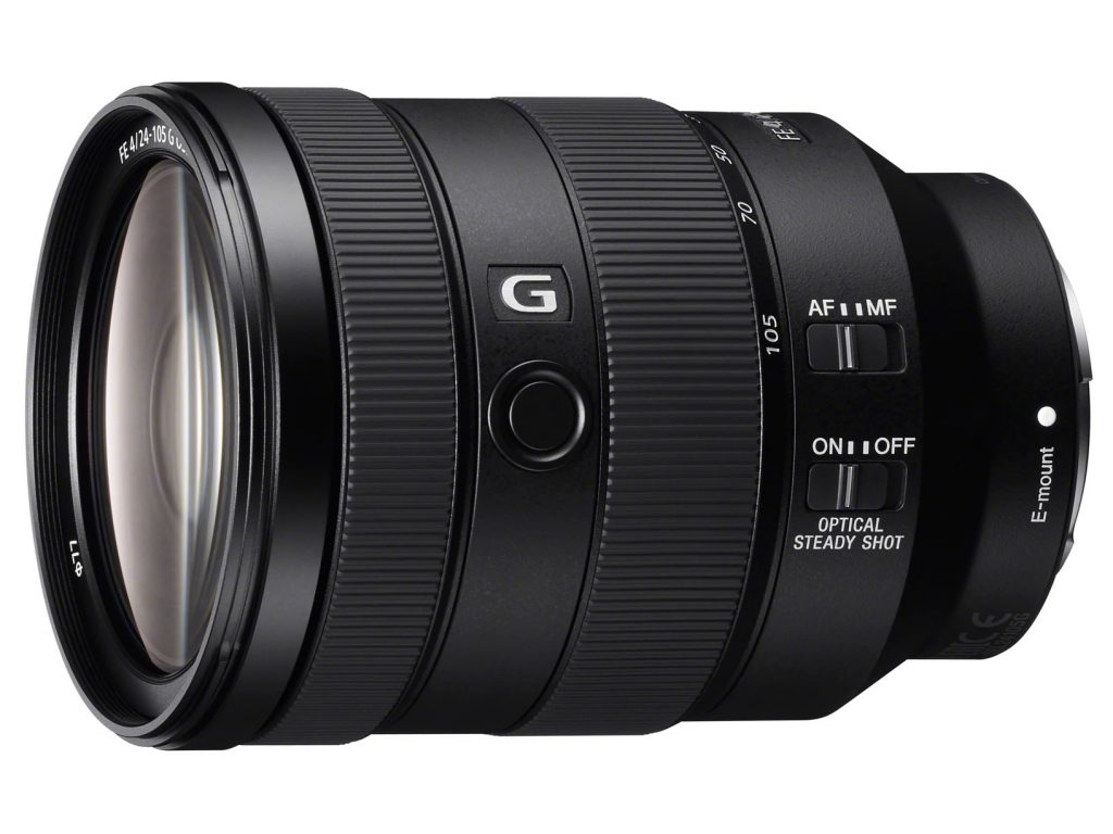 ソニー、本格的な静止画・動画撮影対応で中望遠までカバーする小型軽量Gレンズ・FE 24-105mm F4 G OSS を発売