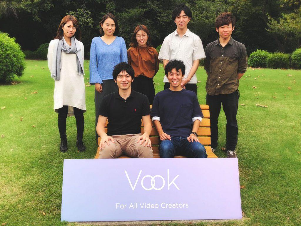 Vook、映像クリエイター向けプラットフォーム開発強化のため1億円を資金調達