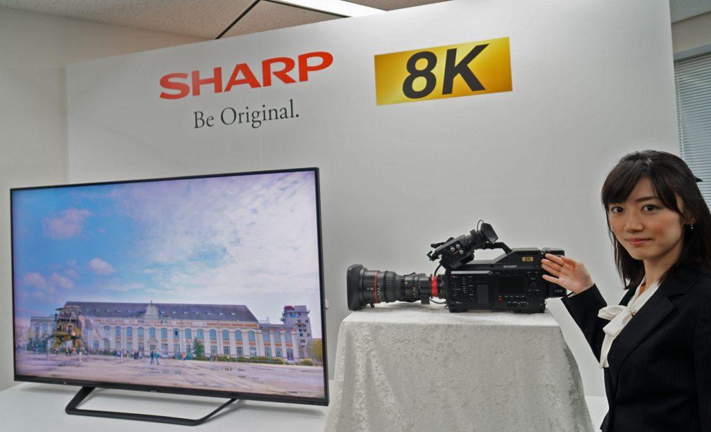 シャープ、業務用8Kカムコーダー、8C-B60Aを12月に発売