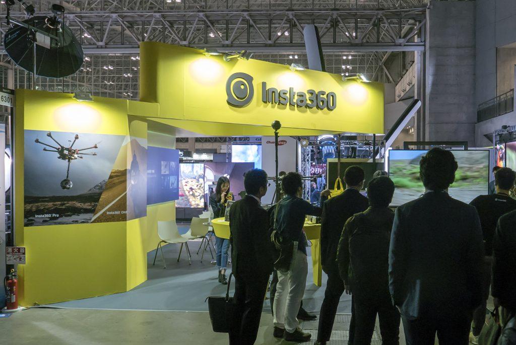 革新的な360度カメラ・Insta360シリーズを発売するShenzhen Arashi Vision が初出展